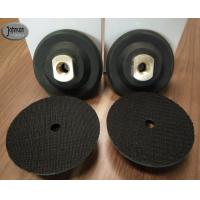 "Buy cheap 3"" , 4"" , 5"" Rubber Granite Polishing Pads Holder , Black Color Diamond Polishing Discs from wholesalers"