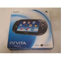 Buy cheap SONY PLAYSTATION VITA BLACK HANDHELD WI-FI WIFI CONSOLE SYSTEM from wholesalers