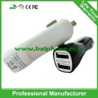 Buy cheap USB charger for car with vdouble USB from wholesalers