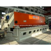 Buy cheap Hand Hydraulic Guillotine Shear , Guillotine Metal Cutting Machine from wholesalers