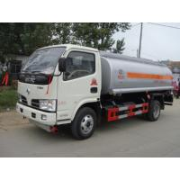 Buy cheap Hot sale in Nigeria 5CBM gas filliing tank truck LPG bobtail truck mobile gas station truc from wholesalers