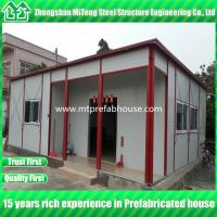 Buy cheap Modular house for residence, prefabricated light steel mobile home from wholesalers