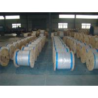 Buy cheap Water Resistance Galvanized Steel Wire Cable , Stranded Steel Wire 100 Kgs-300 Kgs Packing from wholesalers