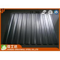 Buy cheap 0.3-1.2mm Z30-180g Corrugated Steel Sheets , Dx51d Zinc Roofing Tile from wholesalers