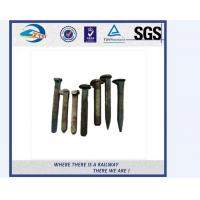Buy cheap ZhongYue customize galvanize track spikes for Thailand railway project from wholesalers