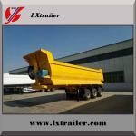 Buy cheap Lianshan factory 3 axle steel tipping tipper semi trailer dump trailer from wholesalers