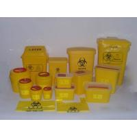 Buy cheap Red Or Yellow Medical Waste Containers , Disposable Sharps Containers Round Shape from wholesalers