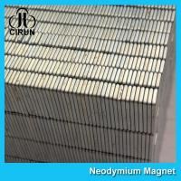 Buy cheap Square Industrial Neodymium Magnets Bar Block N54 Grade High Strength product