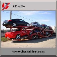 Buy cheap 2 / 3 Axles Hydraulic Car / Vehicle Carrier/Car Transport Semi Truck Trailer from wholesalers