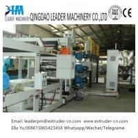 Buy cheap 1000mm Mono-Layer PP PS Sheet Extrusion Line Machinery With Easy Operation from wholesalers