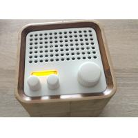 Portable FM RadioWooden Bluetooth Speaker Wireless For TV / Iphone