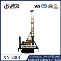 Buy cheap XY-200C concrete core drilling machine for 200m depth hot sale from wholesalers