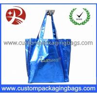 Buy cheap Biodegradable Soft Flex-loop Carrier  Die Cut Handle Plastic Bag with Punch Hole from wholesalers