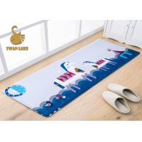 China Non - Slip Big Size Printing Childrens Bedroom Rugs For Home Kids / Baby on sale