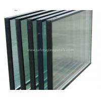 Buy cheap Heat Insulating Sealed Glass Window Units With Sealant , Euro Bronze from wholesalers