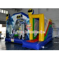 Buy cheap Inflatable Bouncer Jumping House / Blow Up Batman Castle For Children product