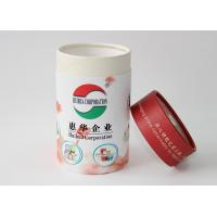 Buy cheap Light weight Round Cardboard storage cylinder Tubes Food Packaging , paper tea cans product