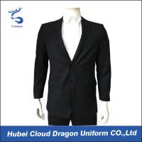 Buy cheap Regular Fit Black Security Guard Jackets Law Enforcement Coats For Police / Worker from wholesalers