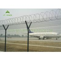 Decorative Garden Welded Mesh Fence / Square Wire Mesh FenceWith Erosion Resistance