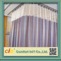 Buy cheap Polyester Cubicle Hospital Use Home Textile Fabric Cloth Material for Upholstery from wholesalers