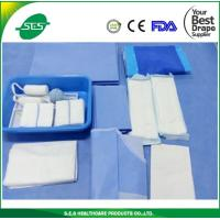 Buy cheap EO Sterile Disposable Gynecological Delivery Drape Set, Delivery Pack from wholesalers