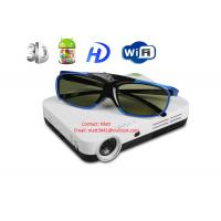 Buy cheap 3d wifi mini 4.2 Android smart DLP projector with 3d glasses from wholesalers