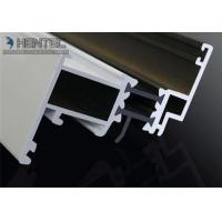 Custom Extruded Aluminium Sliding Door Extrusions 6063 - T5 , White Powder Painting