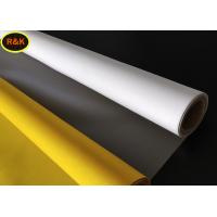 Buy cheap 150 Micron Polyester Silk Screen Printing Mesh For Good sharpness And High Penetration from wholesalers