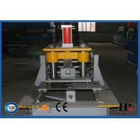 Buy cheap Metal Steel Frame Making Machine , Solar Strut Channel Roll Forming Machine from wholesalers