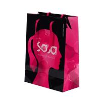 Buy cheap Eco Friendly Branded Paper Bags ,  Custom Printed Gift Bags With Logo from wholesalers