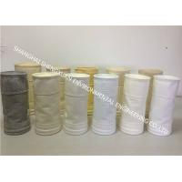 Buy cheap Easy Cleaning Dust Collector Filter Bags 550 GSM To Improve Filter Efficiency product