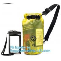 Buy cheap waterproof dry bag with shoulder straps outdoor backpack water-resistant dry bag, Game Sportpack Plastic Drawstring Back from wholesalers