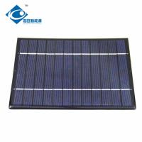 Buy cheap 3W Poly high power photovoltaic solar panel 0.5A Epoxy Resin Solar Panel ZW-170130 6v small solar panel product