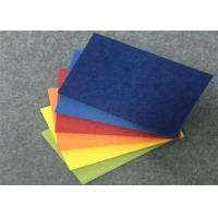 Buy cheap Meeting Room Pet Felt Acoustic Panels 34 Colors Available Anti Bacteria from wholesalers