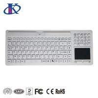 Buy cheap Wireless Waterproof Keyboard with Touchpad and Numeric Pad for Medical Using from wholesalers