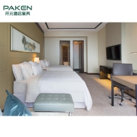 Buy cheap Modern Customized Plywood MDF Hotel Lobby Furniture from wholesalers