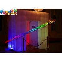 Buy cheap Oxford Cloth Inflatable Photo Booth / Mini Inflatable Tent For Event from wholesalers