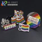 Buy cheap Custom fashion hard enamel lapel pins of fantasy enamel pin from wholesalers