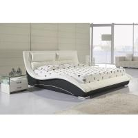 Buy cheap top sale modern pu leather bed bedroom furniture B07 from wholesalers
