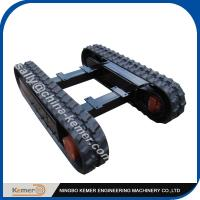 Buy cheap 1.5 ton hot sale Rubber Track Undercarriage / Mini load rubber undercarriage from wholesalers