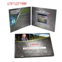 Buy cheap 2.4 Inch TFT LCD Video Invitation Cards , JPG / JPEG Photo Format Video Production Brochure from wholesalers