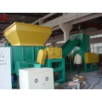 Buy cheap Aluminum Castings Profiles plastic waste shredding machine / single shaft shredder from wholesalers