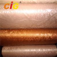 Buy cheap Colorful Bag PVC Artificial Leather Imitation Leather 1.4M Width EN Approval product