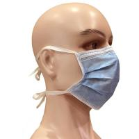 Buy cheap Tie On Disposable Medical Face Masks Latex Free Good Air Permeability from wholesalers