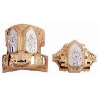 Buy cheap Luxury Bronze Coffin Fittings , Casket Accessories Including 8pcs Casket Lugs from wholesalers