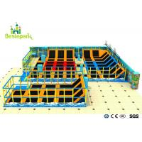 Buy cheap Customized Design Colorful Indoor Trampoline Park Jump Bed For Gym Club from wholesalers