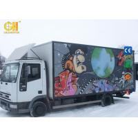 Buy cheap Entertaining Game Center Mobile Movie Theater Simulator Truck 5D 7D Cinema product