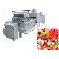 China Customized Voltage Soft Candy Production Line High Output 150 Kg/H on sale