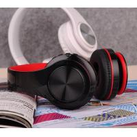 Buy cheap Rechargeable Wireless Bluetooth Foldable Over Ear Headphones with Mic, Stealth from wholesalers