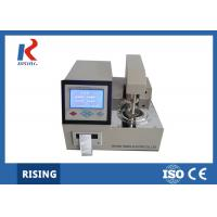 Buy cheap Automatic Open Cup Flash Point Tester ~400℃ Indoor Temperature RSKS-IV from wholesalers
